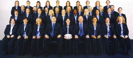 Clients for Sports Massage and associated Fitness  - Women's England Rugby Squad